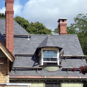 Skalūnas Welsh Slate natūrali stogo danga