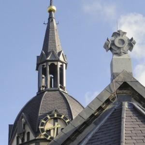 Skalūno Welsh Slate Penrhyn natūrali stogo danga