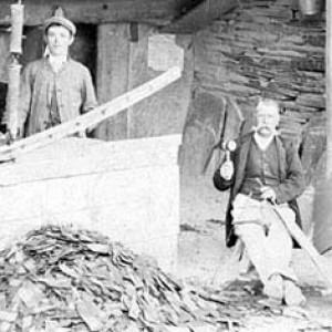 Welsh Slate skalūno gamybos istorija