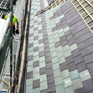 Stogų danga - Skalūnas Welsh Slate Unfading Green