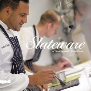 Angliški skalūno indai Welsh Slate Slateware