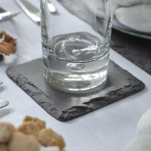 Akmens skalūno indai Welsh Slate Slateware – Kolekcija Dressed Collection