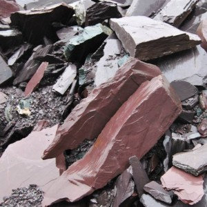Skalūnas Welsh Slate – Spalva, akmens tekstūra